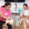 Manevre de prim ajutor: ce faci când se îneacă bebe