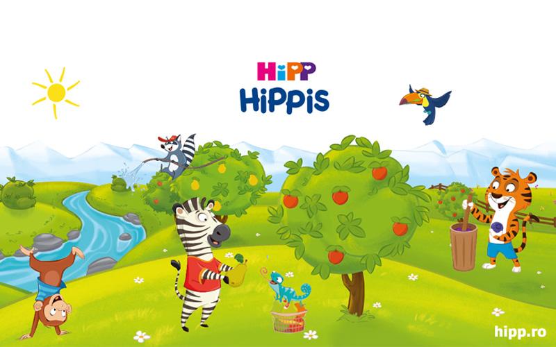 NOU: HiPP HiPPiS – fructe delicioase şi superdistracţie!